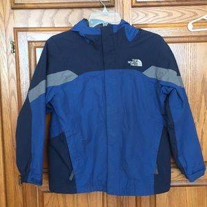 The north face boys shell of winter coat